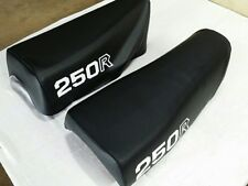 HONDA XR250R 1981 AND 1982 MODEL REPLACEMENT SEAT COVER BLACK (H282--n13)