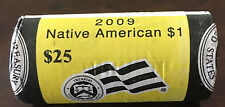 "2009 P Sacagawea ""Unopened"" U.S. Mint Dollar 25 Coin ROLL"