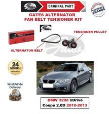 Gates COURROIE VENTILATEUR ALTERNATEUR Kit tendeur pour BMW 320d XD rive Coupé