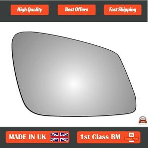 Right Side Stick On Convex Wing Mirror Glass for BMW 1 Series 2011-2021 293RS