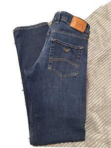 Authentic mens armani jeans 32 waist