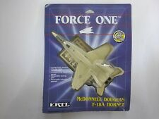 Ertl Force One Mcdonnell Douglas F-18A Hornet Plane Fighter Jet Die Cast