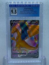 Pokémon (2020) Champion's Path Charizard V Black Star CGC 9.5 Gem Mint PSA 10