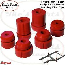 Prothane 6-106 Body & Cab Mount Bushing Kit-12pc for 83-97 Ford Ranger - Poly