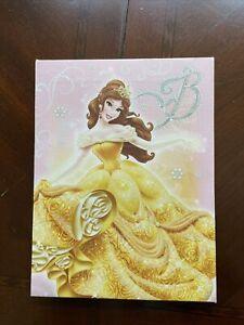 Disney Princess 8.5 x 6.5 Wall Art Decor Canvas Picture - Belle