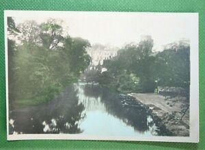 WARWICK CASTLE  and River Avon Warwickshire  Original 1926 Vintage Photo-card