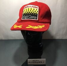 VINTAGE DYNAPAC HIGH COMP HAT Snapback Mesh Trucker Cap Equipment Pavement RARE