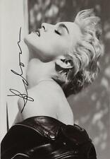 MADONNA Signed 'True Blue' Photograph - Rock / Pop Singer / Vocalist - preprint