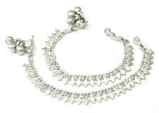 "Children's Kids Anklets (Pajeb) Ankle Bracelet Solid Silver 5"" - Pre-owned"