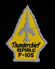 USAF Republic F-105 Thunderchief Patch Thud Vietnam War Century Series Fighter