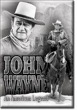 John Wayne  An American Legend Miniature Sign Magnet 2 X 3 Inch