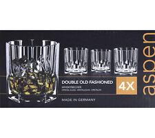 4x Nachtmann Aspen Whiskybecher Tumbler 324 ml Whiskyglas Glas Kristallglas