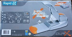 Rapid Heavy Duty Duax Stapler - auto-trimming staple length (2 - 170 Sheets)