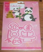 Marianne col1409 COLLEZIONISMO-elines PANDA & Bear (12pcs)