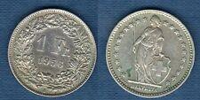 Suisse - 1 Franc 1956 en Argent - Switzerland