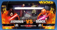 STAR WARS ROTS Battle Arena Mini-Playsets SIDIOUS VS. MACE NEUF en boite
