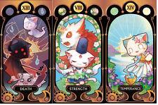 Tarot of DNAxCat cards deck self-published cats tarot