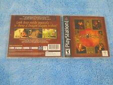 Darkstone (Sony Playstation) PS1 Game CIB Original Dark Stone Complete