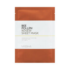 [MISSHA] Bee Pollen Renew Sheet Mask - 2pcs