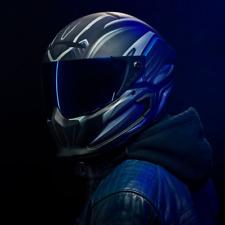 Ruroc Motorcycle Helmet Atlas Typhoon Limited