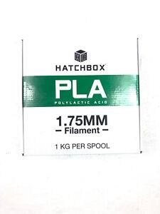 HATCHBOX White Filament 3D Printer 3D PLA-1KG1.75-WHT 1.75mm 1Kg Spool