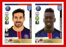 FIFA 365 2015-16 PANINI 2016 -Figurina Stiker- n. 457/458 - PSG -New