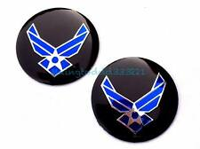 Motorcycle 2'' U.S.A Air Force Gas Tank Emblems For Harley Davidson Motorcycles