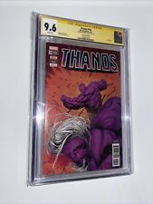 Thanos #18 CGC 9.6 SS ✍️ Donny Cates + Last Issue 🔥Last App Of King Thanos