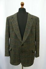 Men's Vintage Canda Harris Tweed Jacket Blazer 44S Dry Cleaned