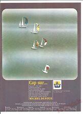 Advertising Publicité  Dufour  Voilier  La Rochelle Années 70' Vintage AD