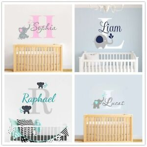 Custom Personalized Name Baby Wall Decal Sticker For Kid Room Nursery Decor