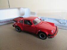 4L NZG Modèle 266 RFA Allemagne Porsche 911 Turbo Rouge 1:43