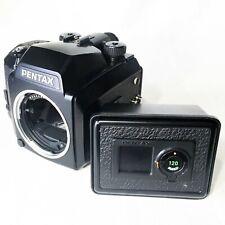 *Exc+5* Pentax 645N Medium Format Slr Film Camera Body w/ 120 & 220 Film Back