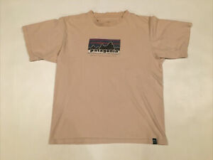 Patagonia Gettin Dirty Since 1973 Beneficial T's Graphic Shirt Size M Org Cotton