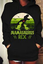 Vintage Retro 2 Kids Mamasaurus Dinosaur Lover