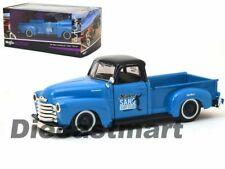 CHEVROLET 3100 PICK-UP 1950 1:25 Scale Diecast Toy Car Model Miniature Truck Blu