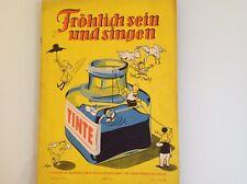 """Alte Frösi  """"Fröhlich sein und singen"""", Jahrgang 1955, Heft 4, DDR"""