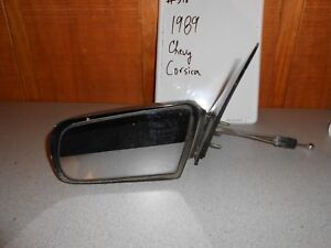 USED 1989 Chevrolet Corsica; Left Manual Side Mirror #518