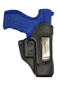 IWB 3 Leder Holster für Walther P99 Schwarz versteckte Trageweise NEU VlaMiTex