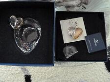 Swarovski Teelicht mit Herz, OVP und Herz Fensterornament