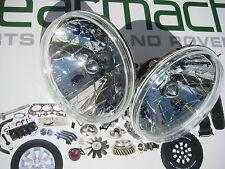 LAND ROVER DEFENDER 90, 110, CRYSTAL HEADLIGHT LAMP SET 7 INCH, BA070C