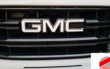 GMC Letter Grille Emblem Badge Carbon Overlay Decal (PRECUT)