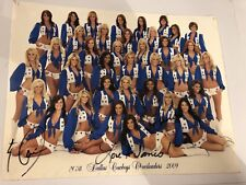 Official 2008 DALLAS COWBOYS CHEERLEADERS Picture Photo DCC Signed pic P713