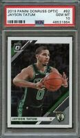 2019 Panini Donruss Optic #82 Jayson Tatum PSA 10 Gem Mint