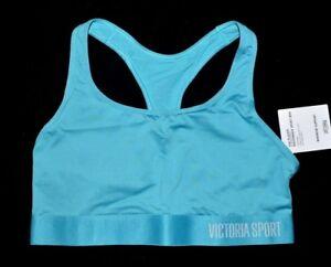 VICTORIA'S SECRET Sport Teal Green Sports Bra Medium M NEW Active Gym Yoga VS