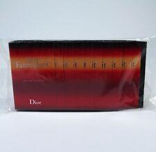 DIOR Aqua Fahrenheit 10 x 1 ml EDT Eau de Toilette Spray 10ml Proben Luxus NEU