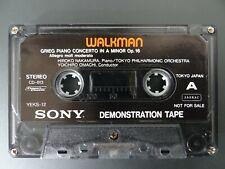 Vtg Sony Walkman Demonstration Cassette Tape Jungle Strut Grieg Piano Concerto