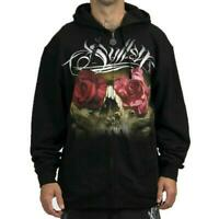 Sullen Art Collective Conklin Roses Mens Zipped Hoodie MMA UFC Tattoo Clothing