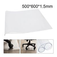 Home Aid Desk Chair Mat Carpet Hard Floor Protector PVC Plastic Home Office