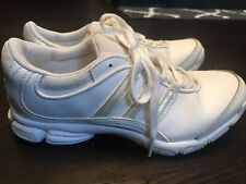 Adidas White Leather Cheer Competition Cheerleader Shoes 5